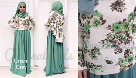 Harga Baju Merk Queena modern muslim fashion gamis pesta muslim cantique