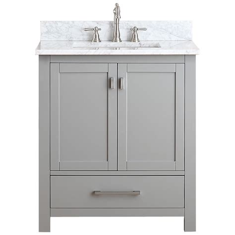 30 bathroom vanity avanity modero 30 quot single bathroom vanity chilled gray