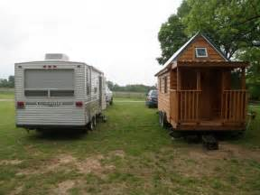 tiny home trailer cing or living rvs as tiny houses