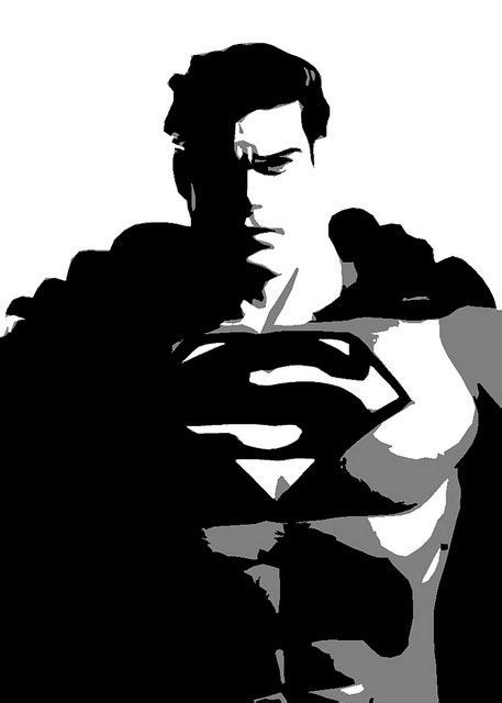 black  white superman superman  woman superman