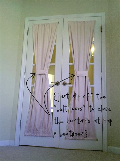 curtain rods for door panels 7 best images about den wall dividers on pinterest