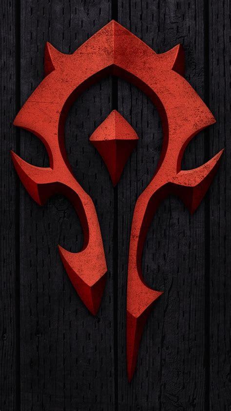 Samsung Galaxy S6 World Of Warcraft Horde Logo Casing Cover sfondi per samsung s6 75 immagini