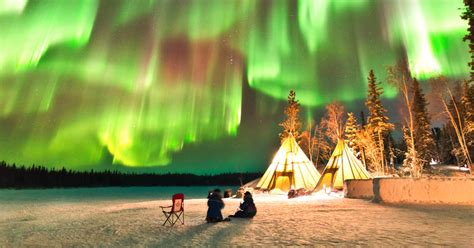 can you see the northern lights in vancouver canada you can fly to the northwest territories to see the