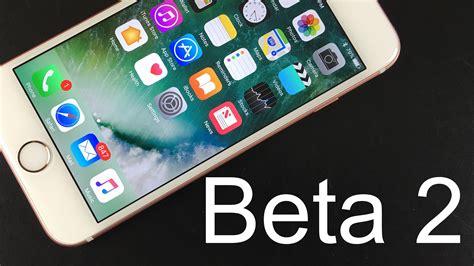 apple beta apple ios 10 beta 2