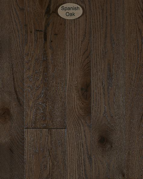 Red Oak, Natural Character, Spanish Oak Stain   Peachey