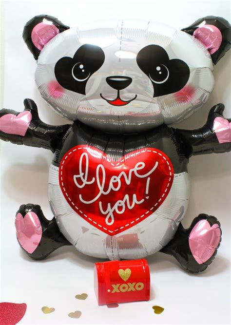 valentines day panda diy s day panda gram idea with free printable