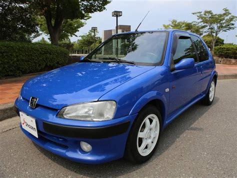 peugeot japan peugeot 106 s16 2001 blue 128 000 km details