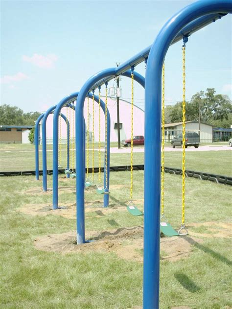 arch swing pin by dunrite playgrounds on 90015504 arch 5 quot swing set 4