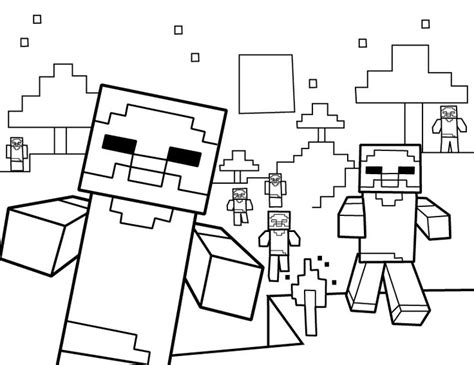 detailed minecraft coloring pages detailed coloring pages minecraft pormmos detailed best