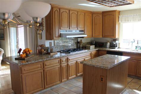 refacing oak kitchen cabinets golden oak cabinet reface traditional kitchen san