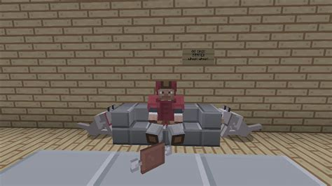 how do you make a couch on minecraft minecraft xbox ps3 sit able couch chair tutorial no mods