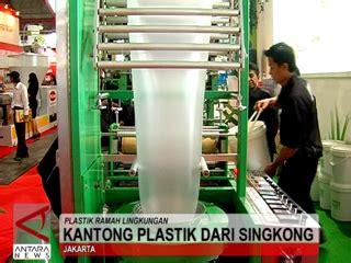 Plastik Dari Singkong Lsm Maskapel Kantong Plastik Berbahan Singkong Mulai