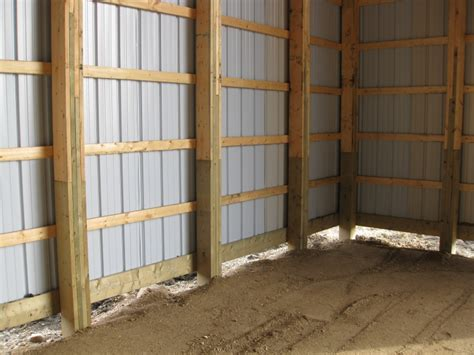 Laminated Posts For Pole Barn laminated poles wizer buildings