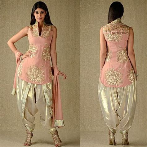 boat neck gala suit 7 types of best designer punjabi suits trinjhann