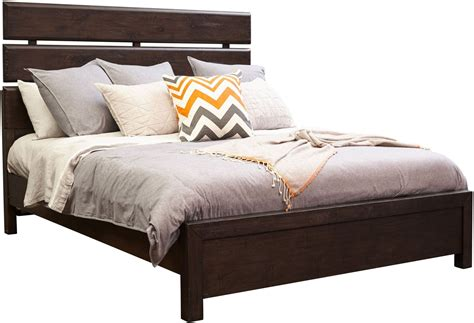 Fulton Bed by Fulton St Brown Cal King Plank Bed S086 275 76 406