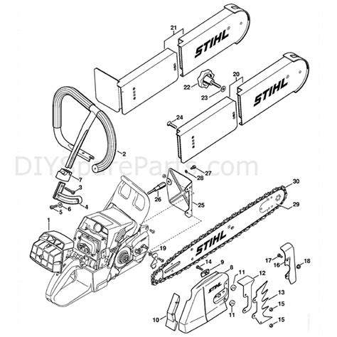 stihl 020t parts diagram stihl ms 440 parts diagram stihl bt 121 parts diagram