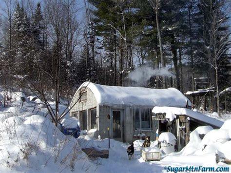 more snowy cottage sugar mountain farm
