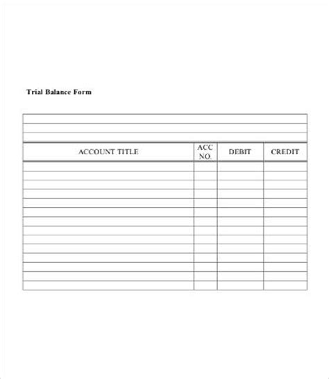 Blank Balance Sheet Template by 28 Printable Blank Balance Sheet Template Balance Sheet