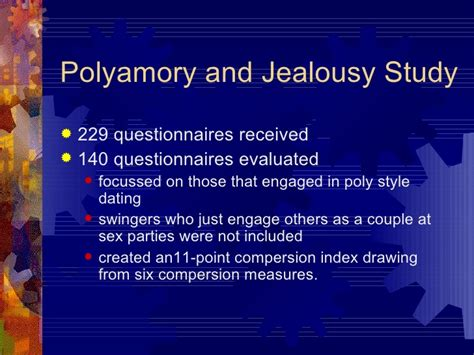 swinging and jealousy negotiating pairbonding and romantic love in polyamorous