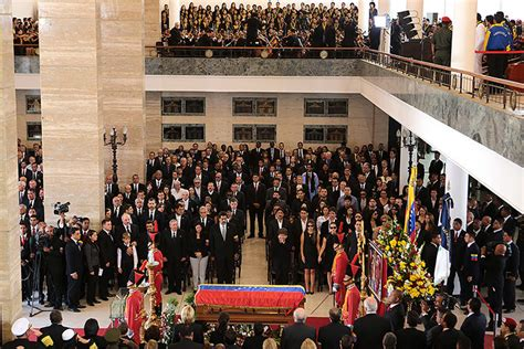 hugo ch 225 vez funeral in pictures world news the guardian