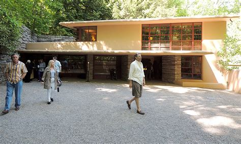 the story the carport at fallingwater the