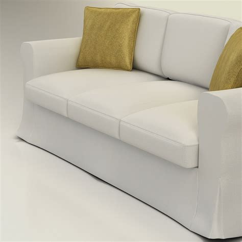 ikea sofa quality 3d ikea ektorp sofa high quality 3d models