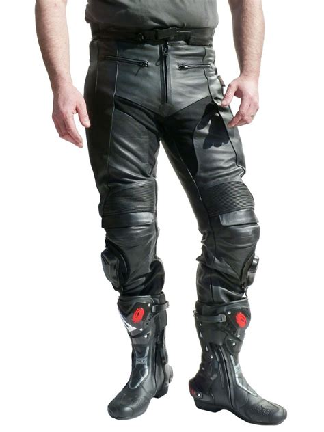 motorbike trousers jts cobra 2 mens leather motorcycle trousers free uk