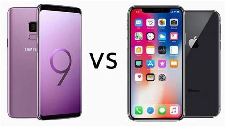 samsung galaxy s9 vs iphone x tech advisor