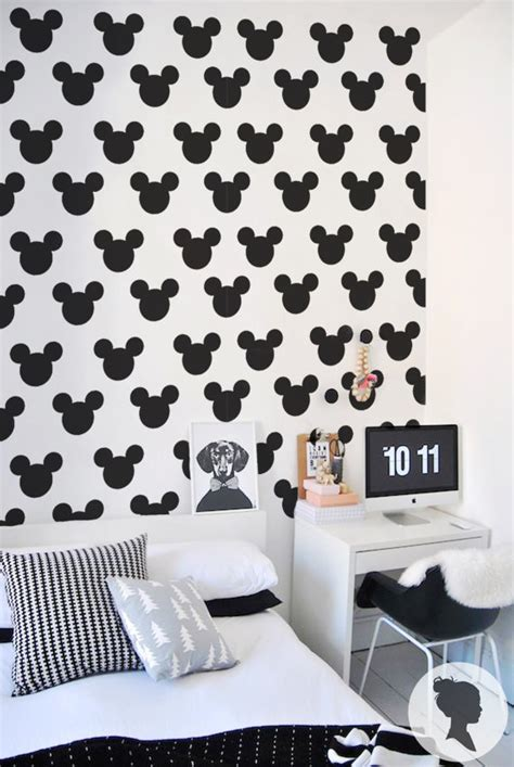 Tapisserie Mickey by Papier Peint Adh 233 Sif Et Amovible