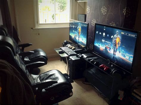 gaming room setup cool computer setups and gaming setups