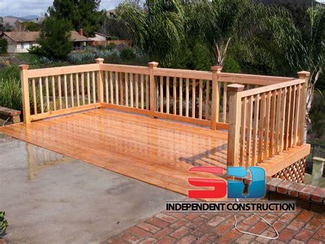 wooden deck wooden decks san diego independent construction
