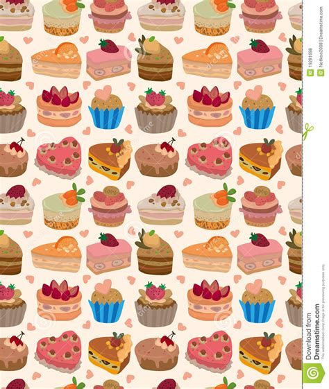 seamless pattern cake seamless cake pattern royalty free stock photos image