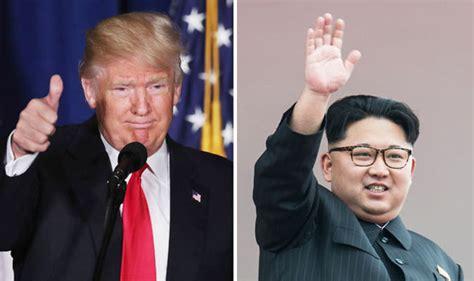 donald trump and kim jong un donald trump wants to meet kim jong un after hailing