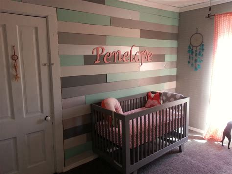 Little Boy Bedroom Decorating Ideas coral and mint arrow theme girls nursery project nursery