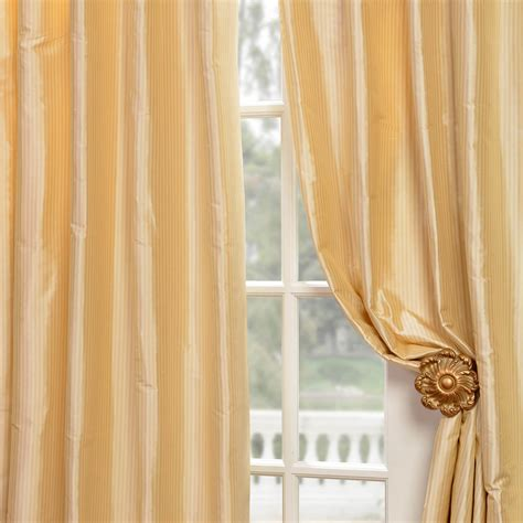cream silk drapes buy cambridge cream silk stripe curtains drapes