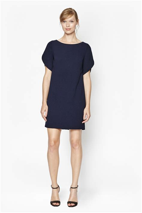 Is This Connection Shift The Dress Of The Season aro crepe boxy shift dress sale connection