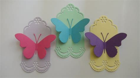 Butterfly Paper Craft - paper craft butterfly gift envelopes