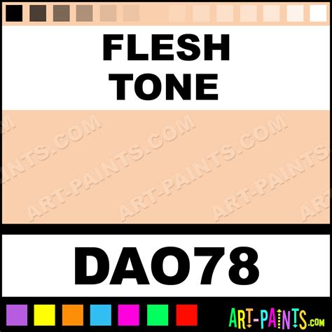 tone on tone color flesh tone decoart acrylic paints dao78 flesh tone