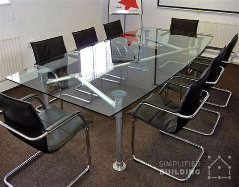Glass Top Meeting Table 5 Modern Conference Table Ideas Simplified Building