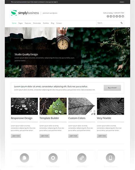 themes wordpress simple 20 simple premium business wordpress themes 2013