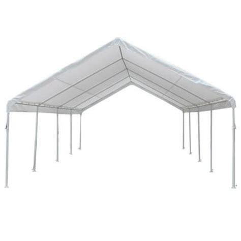 king canopy hercules 18 ft w x 27 ft d steel frame
