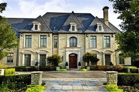 million french inspired stone mansion  dallas tx