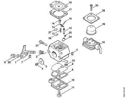 stihl 039 parts diagram stihl fs 85 carburetor diagram car interior design
