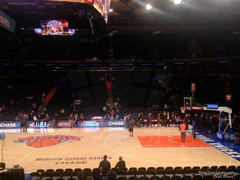 msg section 117 madison square garden section 117 new york knicks