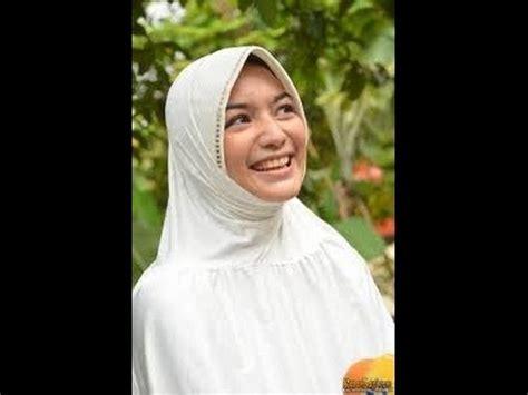 Jilbab Syar I Ala Artis Model Kerudung Kantor Ala Citra Kirana Syar I