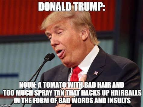 Origin Of The Word Meme - donald trump definition imgflip