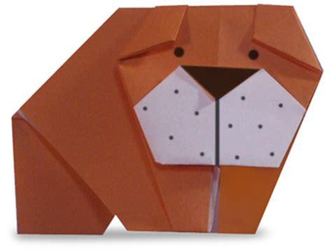 Bulldog Origami - origami bulldog