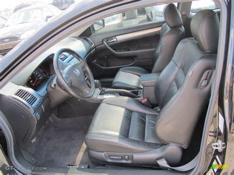 Honda Accord 2006 Interior by Black Interior 2006 Honda Accord Ex L Coupe Photo