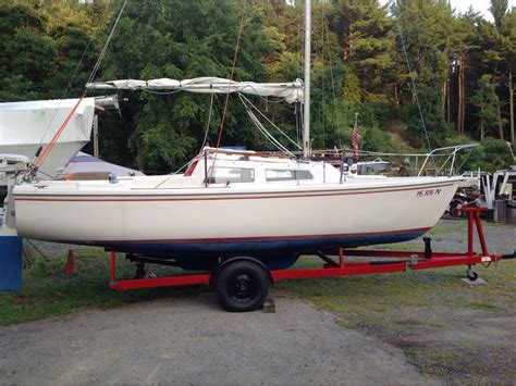1976 Catalina 22 Swing Keel Sailboat For Sale In Massachusetts