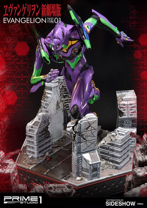 neon genesis evangelion 1 neon genesis evangelion test type 01 statue by prime 1